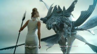 Lunafreya Calling Upon Leviathan | Final Fantasy XV