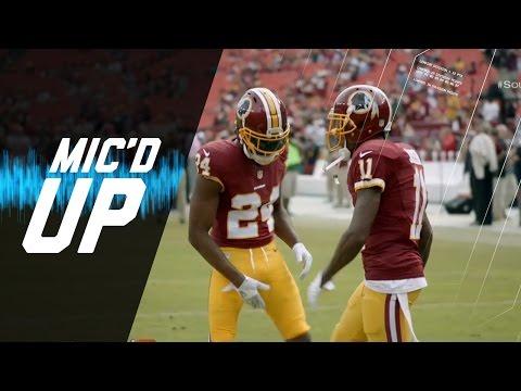 Mic'd Up: Josh Norman and Desean Jackson (Week 4)   Sound FX   NFL Films