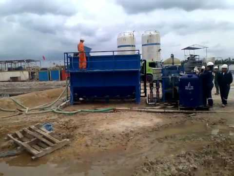 Waste Water Treatment Plant for Oil & Gas