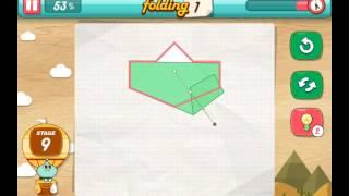 let's fold Lets Fold origami level 9  Walkthrough