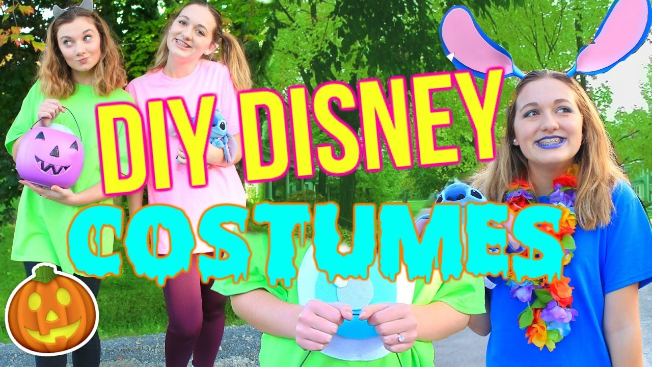 diy last minute disney/pixar halloween costumes for teens!! - youtube