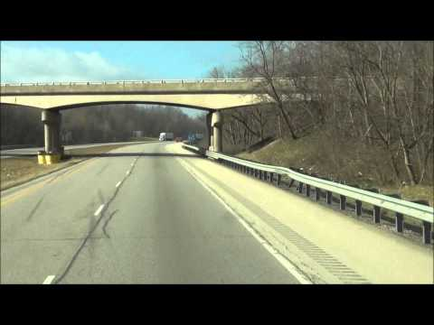 Illinois - Interstate 74 West - Mile Marker 220-210 (3/12/13)