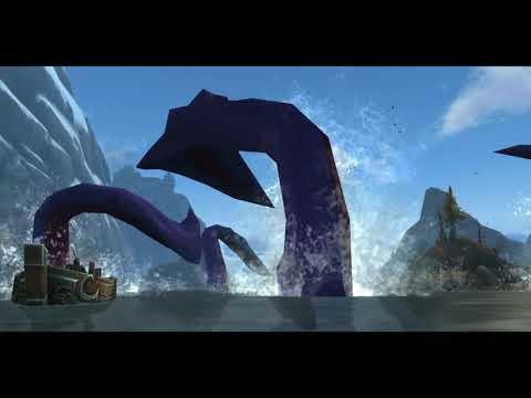 Battle for Azeroth Giant Octopus Cinematic (Kraken!)
