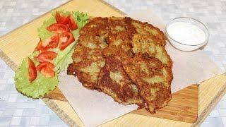 Драники. Рецепт вкусных картофельных драников.
