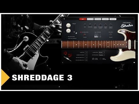 Shreddage 3 - My Quick Sound Demo (Live)