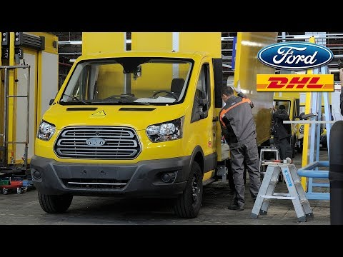 Deutsche Post DHL Streetscooter Work XL Electric Van Production based on Ford Transit