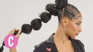 You'll Love This Chic Pony Puff | The Braid Up | Cosmopolitan