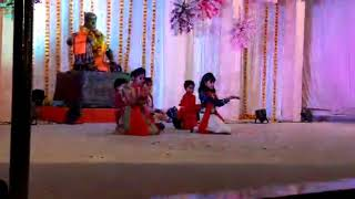kids dancing on Rakhumai Rakhumai marathi song