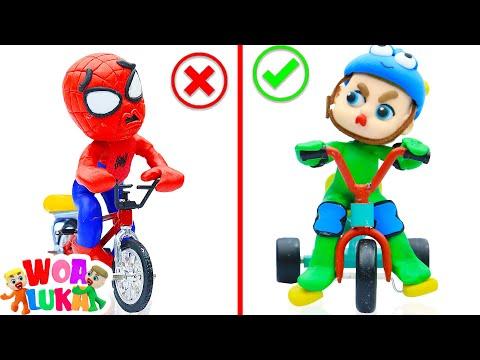 Vui Học cùng bé Luka 🚲 Chiếc Xe Đạp Mới 🚲 Tập 68  WOA Luka Cartoon Story For Kids