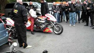 Boogers Mc 25 års jubileum, Svein Olav. Hawgs Racing, Super Twin.