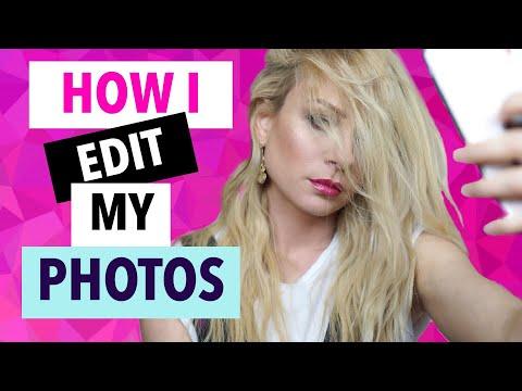 Πως Επεξεργάζομαι τις Φωτογραφίες μου | Gina