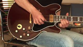 2007 Gibson ES-345 walnut Part 1