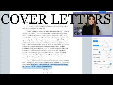 How to Write A Successful Cover Letter   Real Life Example and In Depth Tutorial