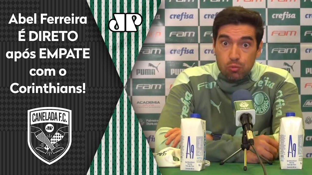 """""""NÃO ACHO que FOI JUSTO!"""" Abel Ferreira É DIRETO após Palmeiras 1 x 1 Corinthians!"""