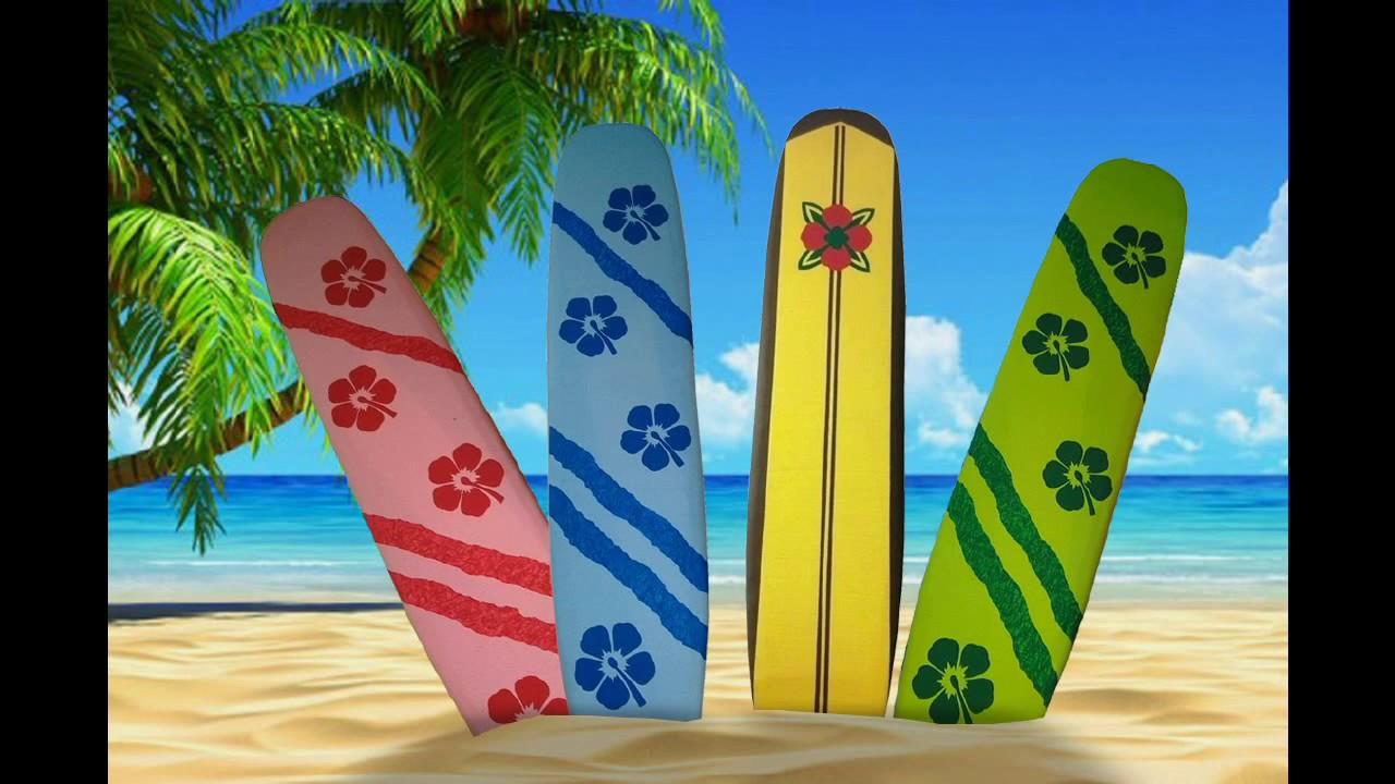Tablas de surf en poliestireno youtube - Tablas de surf decorativas ...