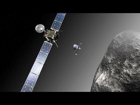 Rosetta Orbits Comet 67P