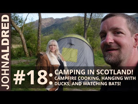 We Got Busted For Camping In Scotland! But We Did See Some Bats, So It Was Totally Worth It