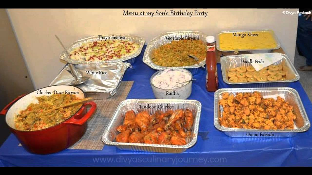 Easy Birthday Party Food Ideas Youtube
