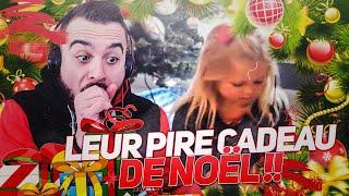 REACTIONS D'ENFANTS RECEVANT LEUR PIRE CADEAU DE NOEL !