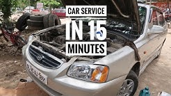Car Service in 15 Minutes | Car Servicing At Local Market | Car Servicing Cost | Car Service