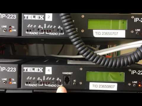 Telex Vega Bosch Communications IP223  Radio IP Interface
