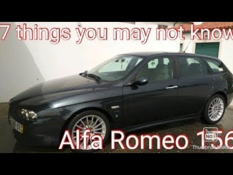 Download 7 things you may not know on Alfa Romeo 156. Common to others makes e models!