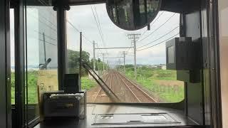 [前面展望]JR東海道線愛知御津駅から西小坂井駅