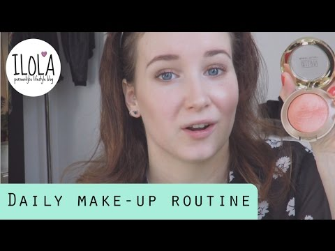 DAILY MAKE-UP ROUTINE + FIRST IMPRESSION MINERAL FOUNDATION LILY LOLO | ILOLAnl