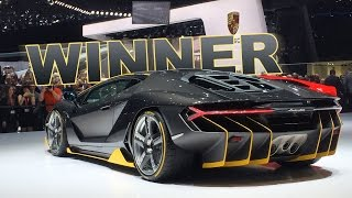 First unveiling of the new Lamborghini Centenario LP 770-4, limited...