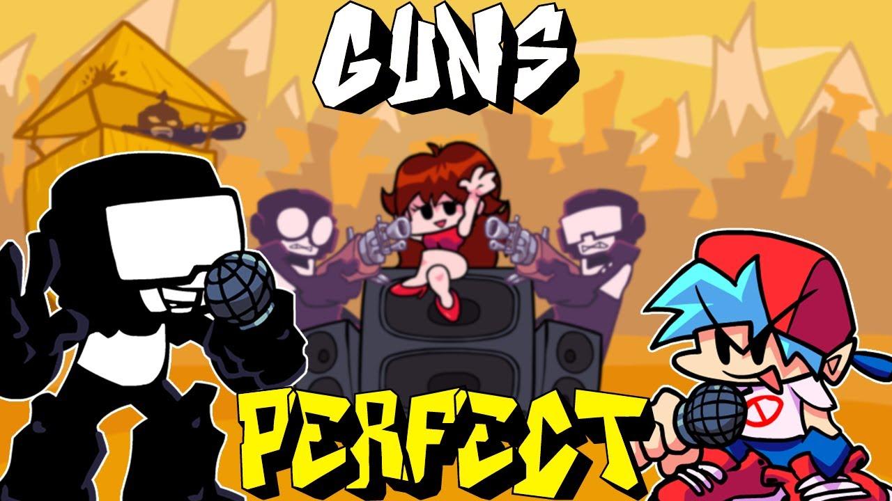 Download Friday Night Funkin' - Perfect Combo - Guns [HARD] (Week 7)