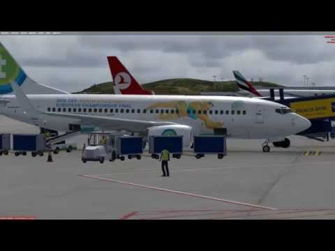 Athens to Corfu with M.C.E. and PMDG 737 700