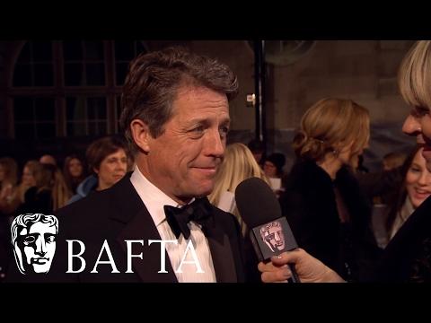 Hugh Grant Red Carpet Interview | BAFTA Film Awards 2017