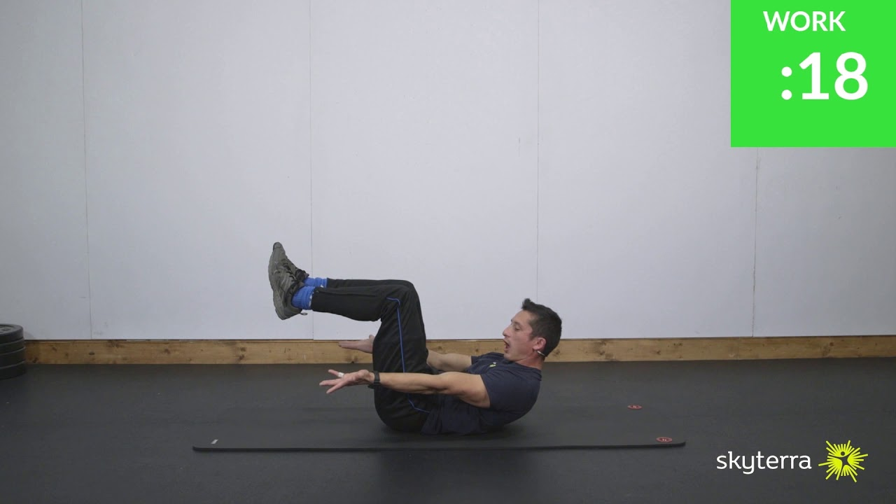Tabata: CORE – Bicycle and Hollow Hold