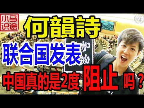 中国2度阻止何韵诗在联合国演讲香港课题? 林郑说逃犯条例已经有定论(小马识途572期)