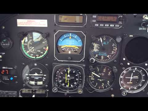 Twin Cessna 340 Flying IFR
