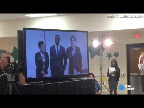 Colbert gives a huge gift to South Carolina students