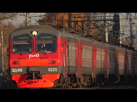 ЭД4М-0225 машрутом Голутвин - Москва