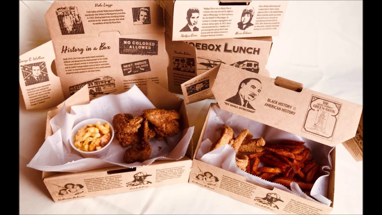 Detroit Based Restaurant Serving Black History Lessons With 'Shoebox Lunches'