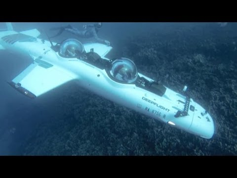 Flying Submarine: The $1.7M Underwater Airplane