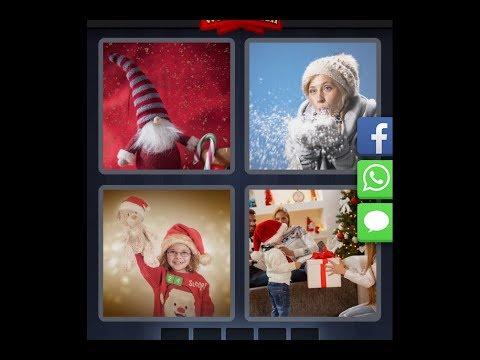 4 Bilder 1 Wort - Tägliches Rätsel 03.12.2017 (Weihnachten - Dezember) [HD] (iphone, Android, iOS)