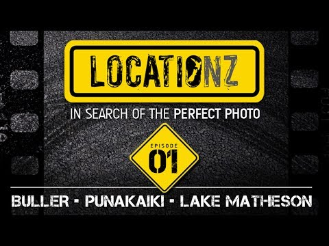 LOCATIONZ Episode 01 | Photography Road Trip NZ | Learn landscape photography on location