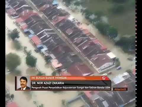 Banjir lebih besar mungkin landa Pulau Pinang