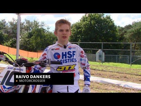 Wereldkampioen motorcross Raivo