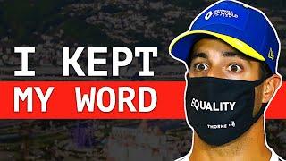 Daniel Ricciardo's Promise To Renault