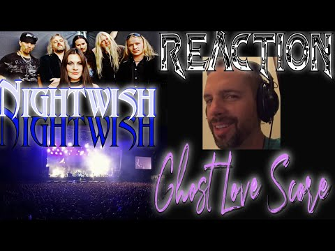NIGHTWISH - Ghost Love Score - Official Live - ROCK MUSICIAN REACTION