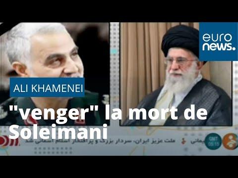 """Attaque américaine en Irak : le guide suprême iranien promet de """"venger"""" la mort de Soleimani"""