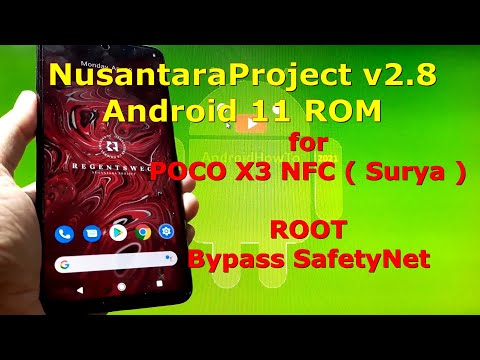 NusantaraProject v2.8 Official for Poco X3 NFC (Surya) Android 11