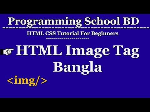Html Image Tag Bangla (img Tag, Img Src, Img Alt)
