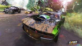FlatOut 4: Total Insanity - Ankündigungstrailer mit Gameplay / FlatOut is back!