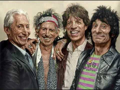 The Rolling Stones - Slipping Away (lyrics)